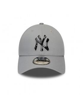 New Era 9Forty Camo Infill (940) NY Yankees - Grey