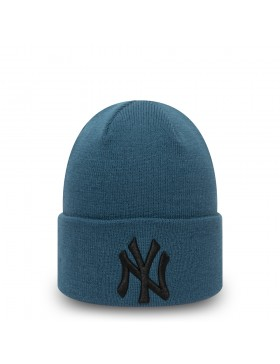 New Era League Essential Cuff Knit New York Yankees - Blue/Black