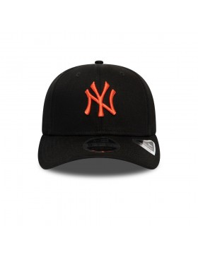 New Era 9Fifty Stretch Snap (950) NY Yankees - Black Orange