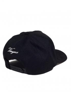 Veryus Clothing - Orthrus Suede Trucker Cap - Black