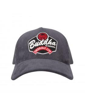 Buddha to Buddha hat KING antracite - corduroi
