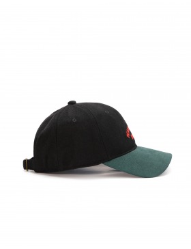Cayler & Sons A-Listed - Curved dad cap - black