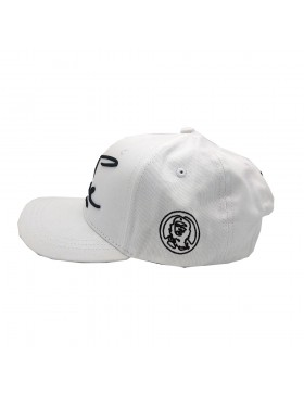 Lauren Rose - Che Snapback - White