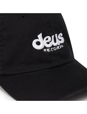 DEUS Curved Cap Records - black