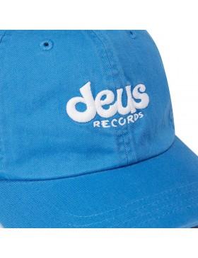 DEUS Curved Cap Records - blue