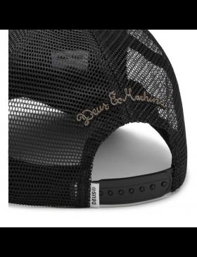 DEUS DL Hat Trucker - black