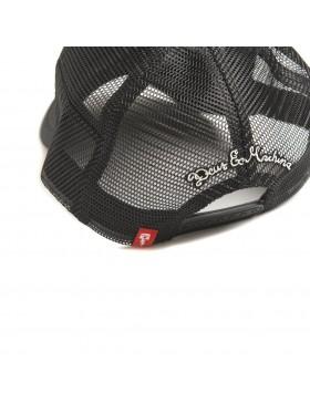 DEUS Hat Trucker House - black