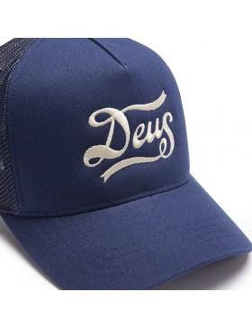 DEUS Hat Trucker Jones - navy
