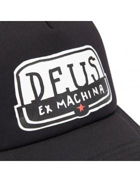 DEUS Hat Yeeha Trucker - black