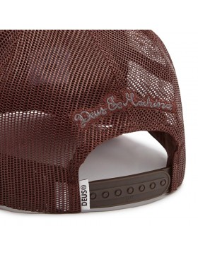 DEUS Diamond 2 Trucker cap - Henna