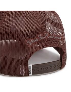 DEUS Diamond 2 Trucker cap - Henna