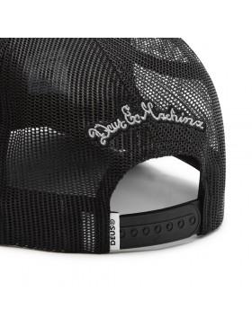 DEUS Piston Shield 2 Trucker cap - Black white