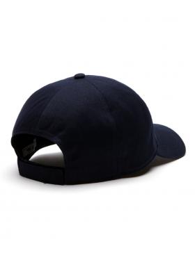 Lacoste hat - Embossed Crocodile - navy blue