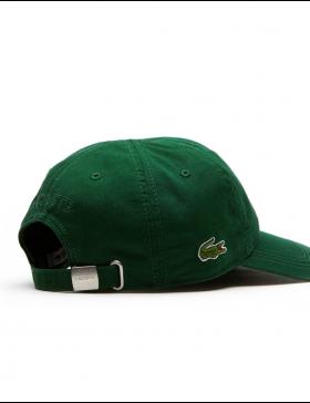 Lacoste hat - Gabardine cap - Dark Green