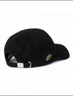 Lacoste hat - Gabardine cap - noir black