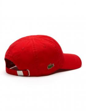 Lacoste hat - Gabardine cap - rouge red
