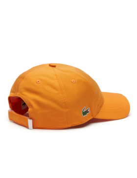Lacoste hat - Sport cap diamond - apricot orange