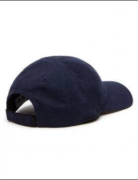Lacoste hat - Sport Microfiber Crocodile - navy blue