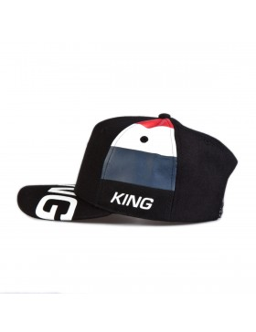 KING Apparel Manor Curve Peak cap - Black