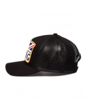 KING Apparel The Monarch cap - Black