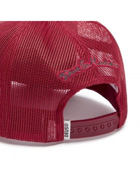 DEUS Moretown Trucker cap - Plum Red