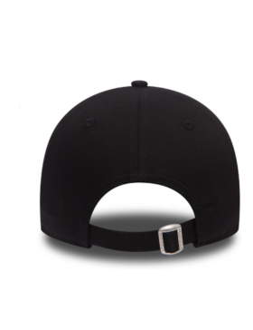 New Era 9Forty Curved cap (940) NY Yankees - Silver on black