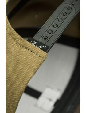 Reell 6 panel Pitchout cap snapback Khaki