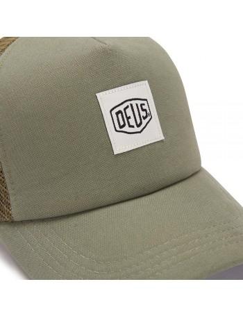 DEUS Hat Glover Trucker - olive