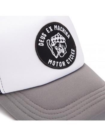 DEUS Hat Smokey Trucker - grey