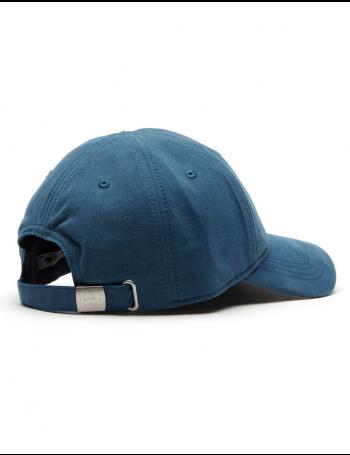 Lacoste hat - Big Croc Gabardine - legion blue