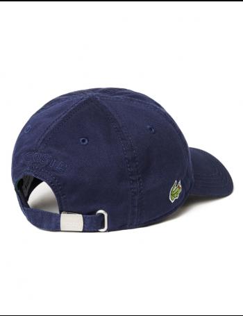 Lacoste hat - Gabardine cap - navy blue