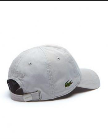 Lacoste hat - Gabardine cap - Nimbus