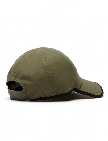 Lacoste hat - Texturized Sport cap - army