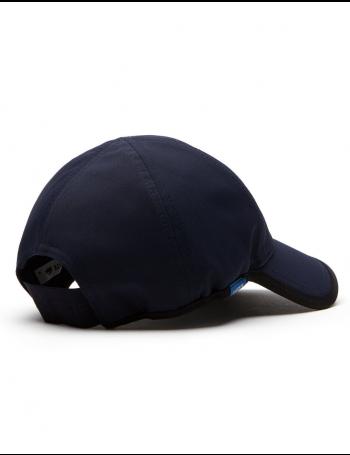 Lacoste hat - Texturized Sport cap - navy