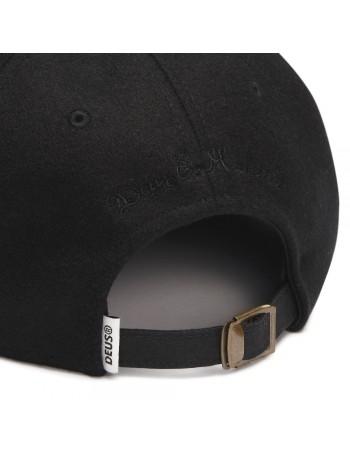 DEUS Moleskin Dad cap - Black