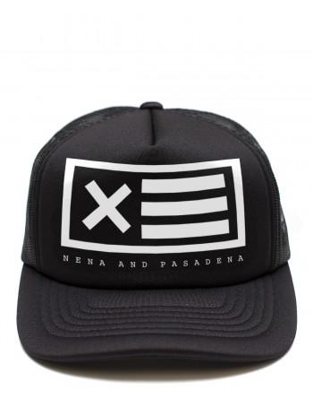Nena & Pasadena trucker cap Flag - black