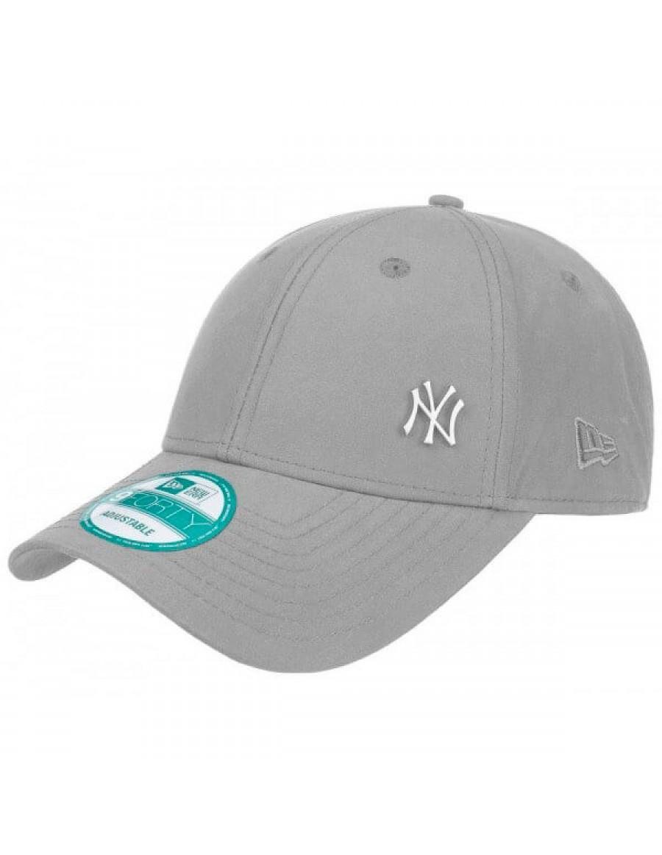 6617b6ea82b New Era 9Forty MLB Flawless (940) NY New York Yankees - Grey + LOW ...