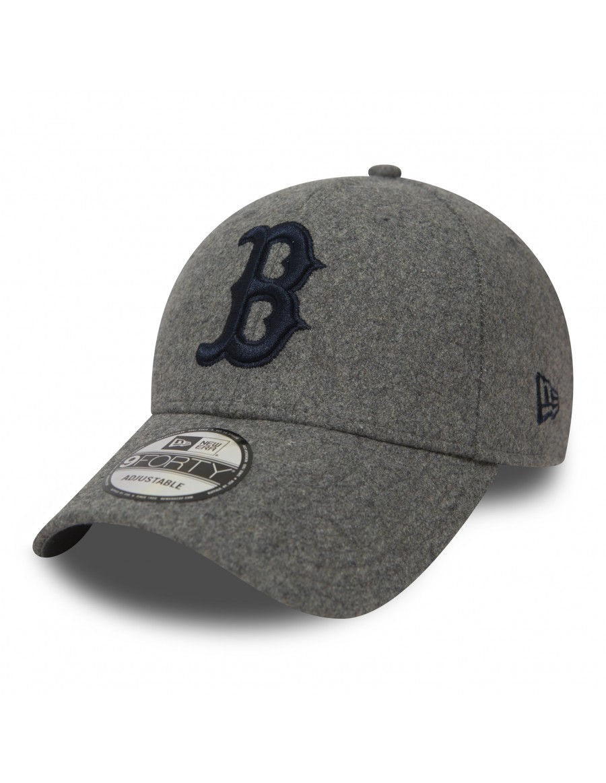 8e4f46e80de New Era 9Forty (940) Winter Utility Melton Boston Red Sox - Gray + ...