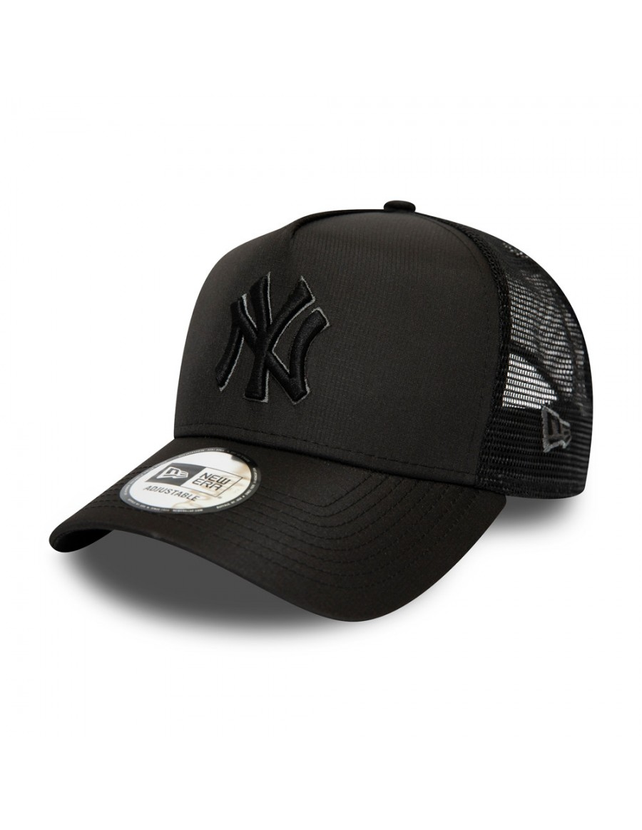 New Era Tonal Black AF Trucker cap NY New York Yankees
