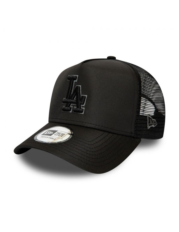 New Era Tonal Black AF Trucker cap LA Los Angeles Dodgers