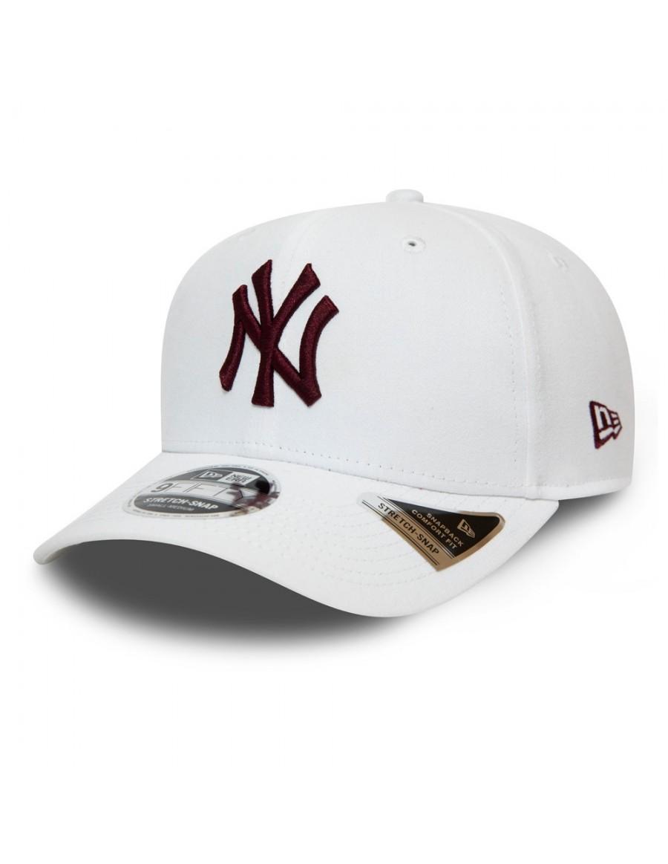 New Era 9Fifty Stretch Snap (950) NY Yankees - White/Maroon