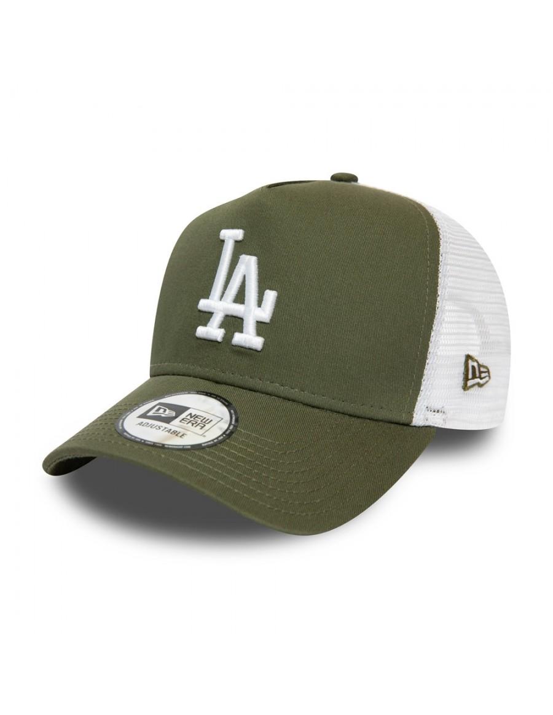 New Era Trucker cap LA Los Angeles Dodgers - Olive