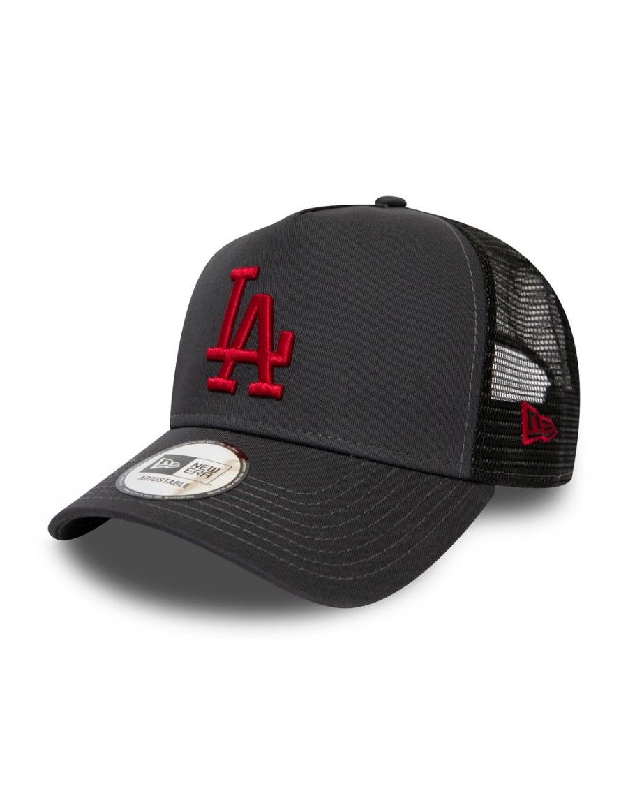 New Era League Essential AF Trucker cap LA Dodgers - Gray Red