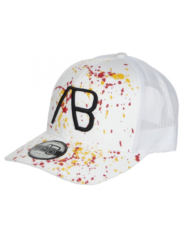 AB cap Retro Trucker - The Paint - White
