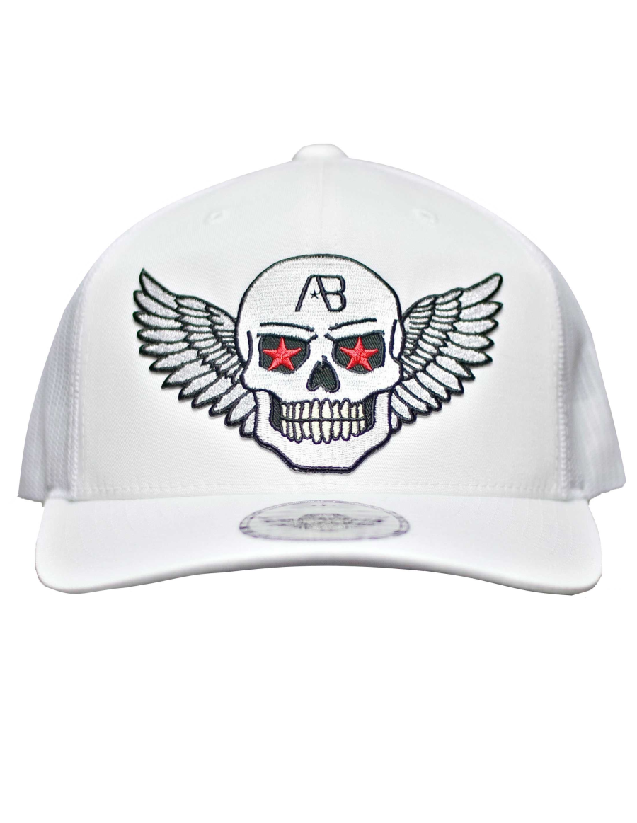 AB cap Retro Trucker - Airforce fresh - white edition