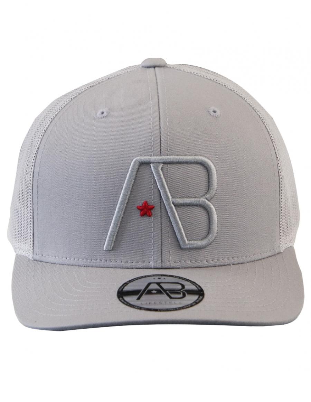 AB cap Retro Trucker - silver
