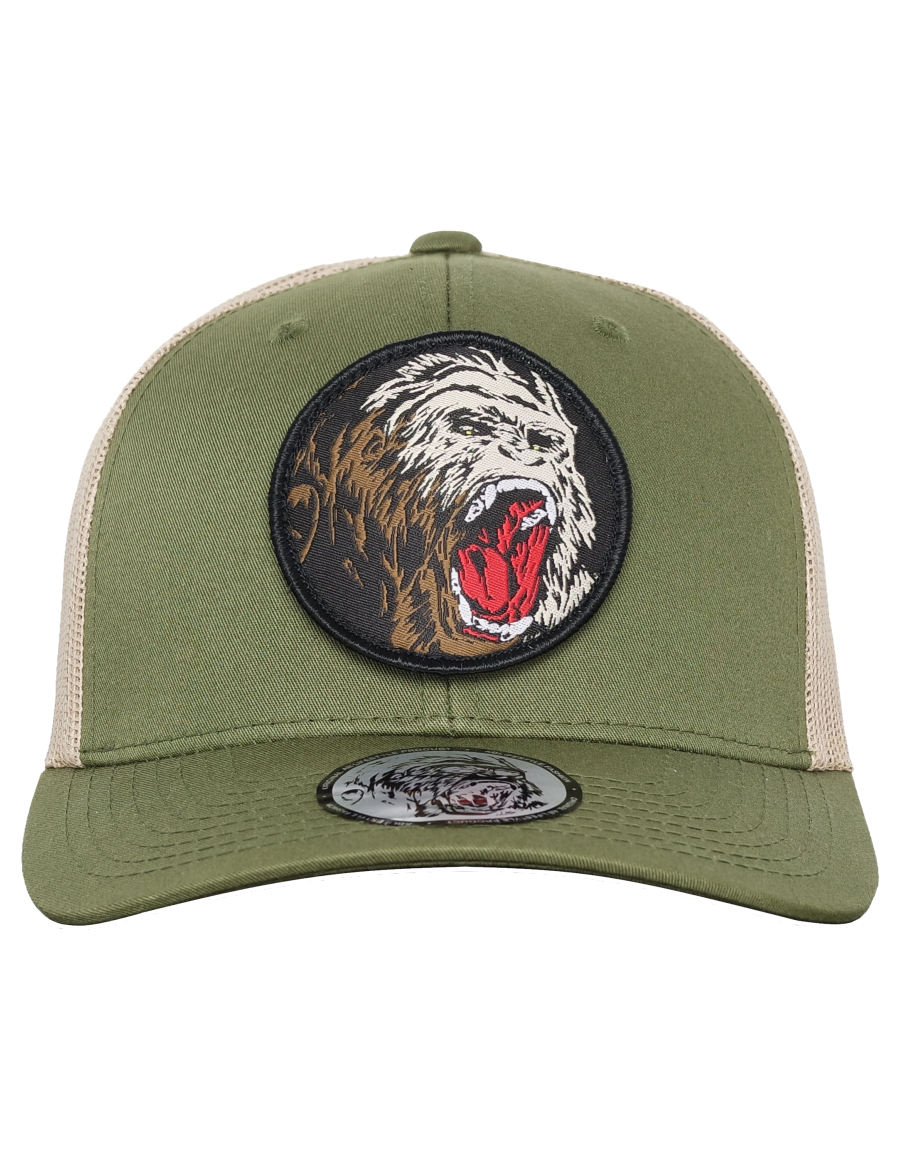 AB cap Retro Trucker – Switch line khaki Gorilla