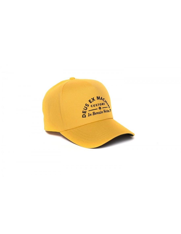 DEUS Benzin Trucker cap - Golden