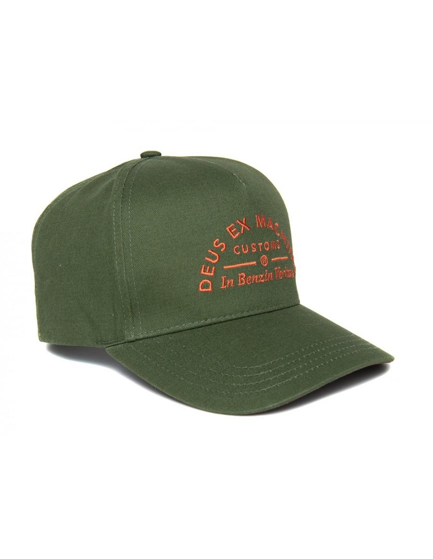 DEUS Benzin Trucker cap - Hunter Green