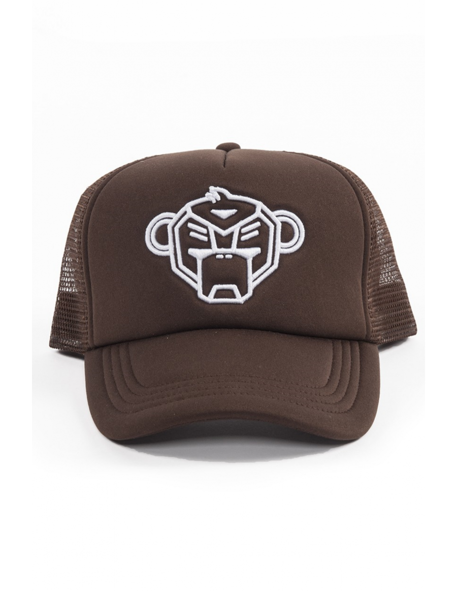 Black Bananas Foam Trucker cap Brown